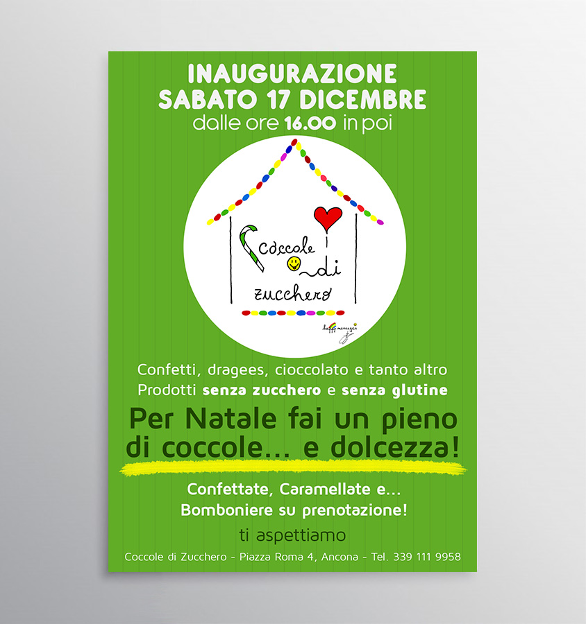 coccole flyer A4